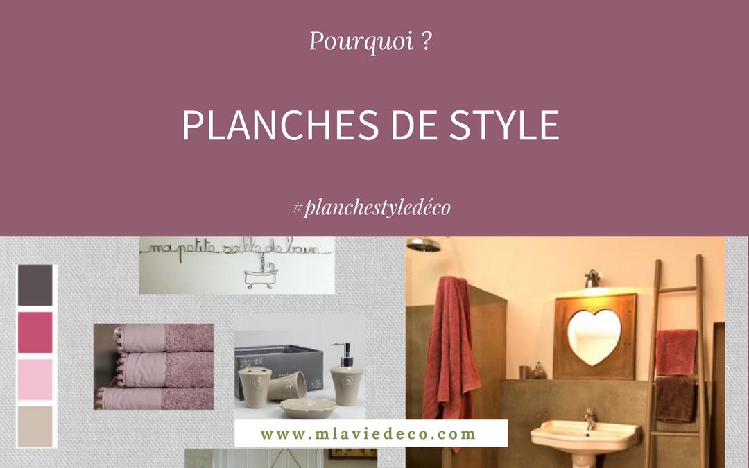 PLANCHES DE STYLE