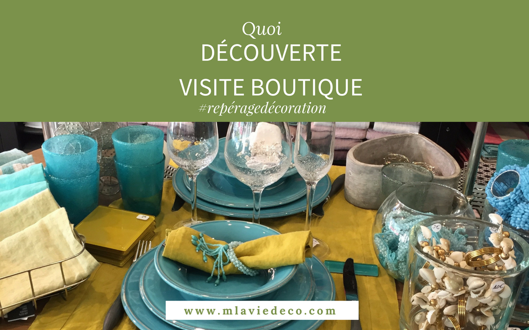 VISITE BOUTIQUE DECO