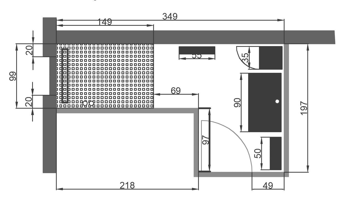 Salle De Bain Pmr Plan ~ plan salle de bain handicap amazing plan salle de bain handicape