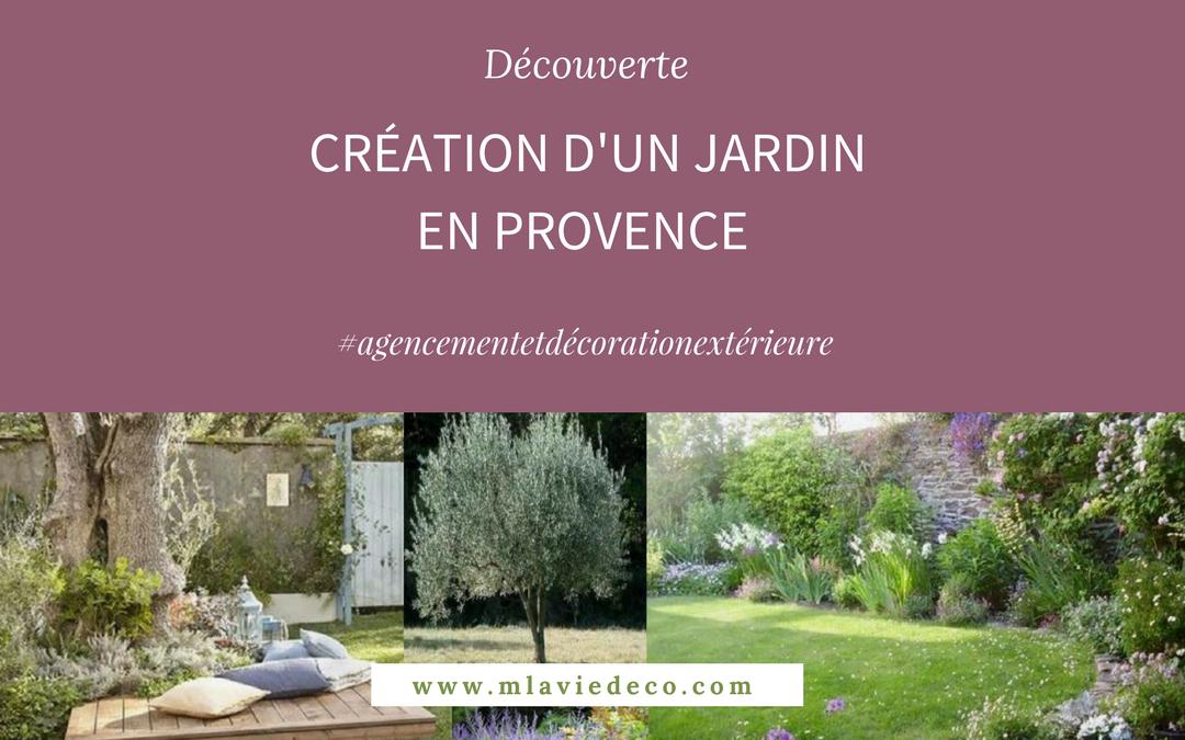 Création d'un jardin paysager en Provence