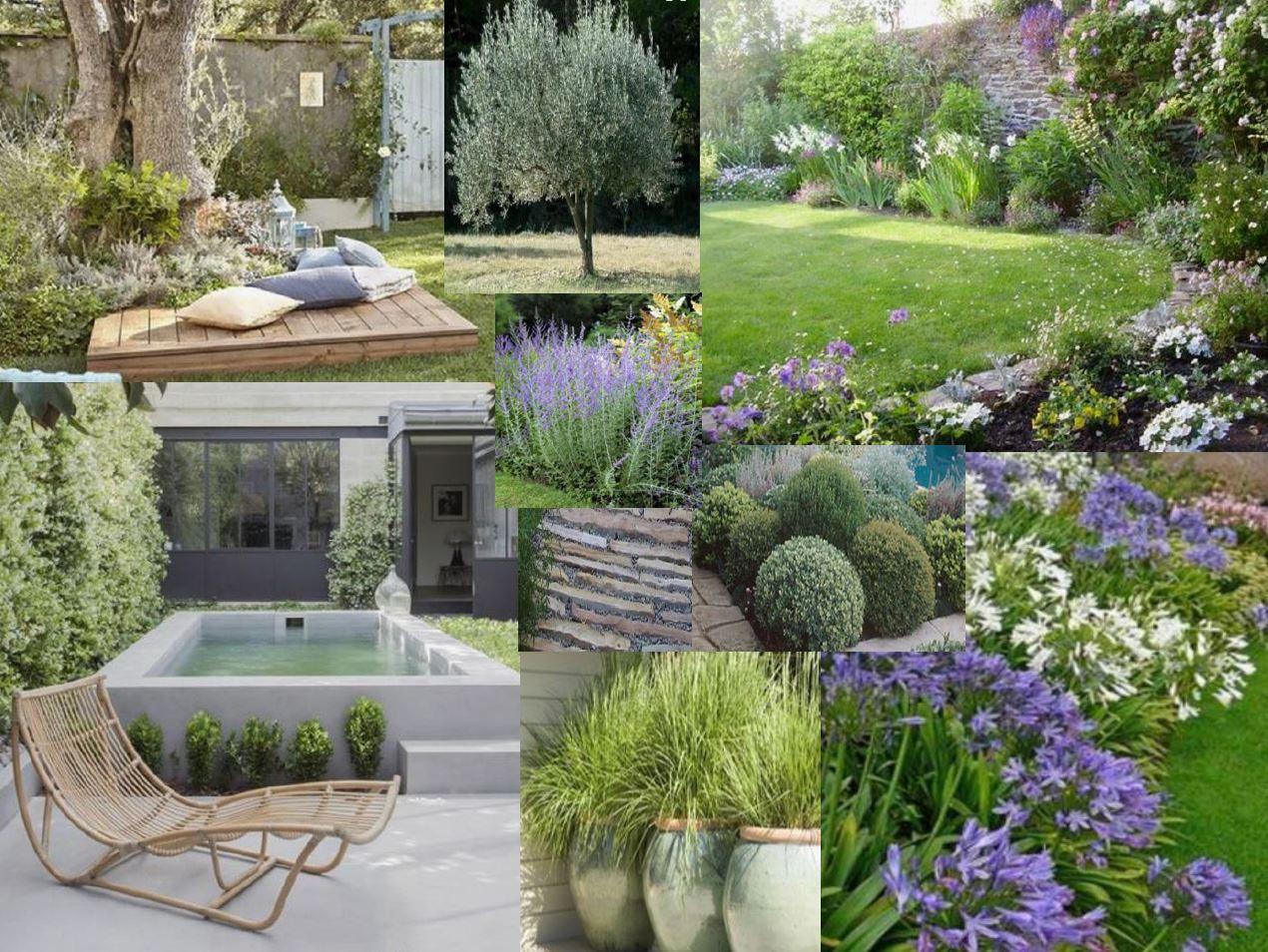 Cr ation d 39 un jardin paysager en provence mlaviedeco for Creation jardin paysager