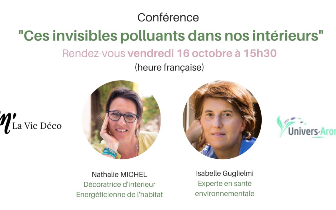 Conférence sur les polluants présents dans nos intérieurs
