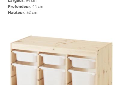 Rangement TROFAST de chez IKEA