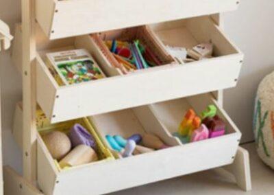 Armoire de rangement de jouets SKLUM
