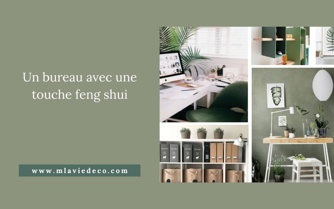 Aménagement et décoration d'un bureau feng shui